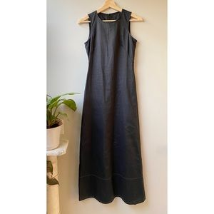 United Colors of Benetton Black Linen Dress